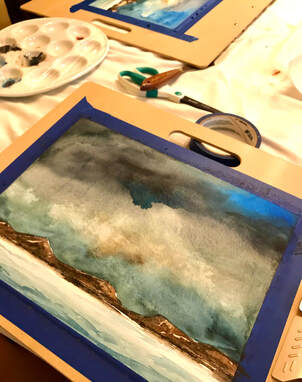 Learn to paint watercolors in Seminole county, florida