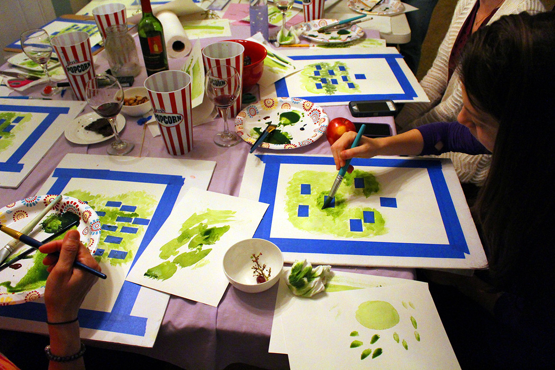 Watercolor and Wine Nights in Seminole County