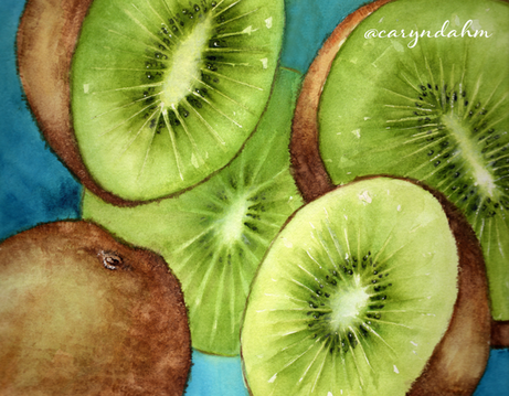 How to tackle your watercolor background