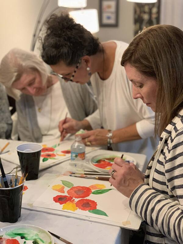 Learn to Paint in Orlando with Watercolors